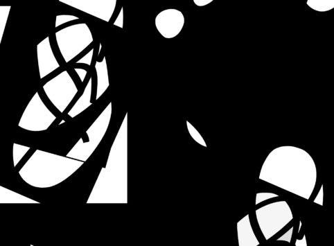 Pristowscheg. Digital Art. Abstract Art. Persecución 71x96 cm | 28x38 in