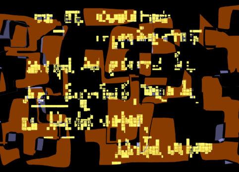 Pristowscheg.La estética de la palabra.Perspectivas cromáticas.Abstract Art.Digital Art.SABIDURÍA. 91x127 cm | 36x50 in