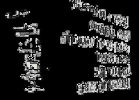 Pristowscheg.La estética de la palabra.Perspectivas cromáticas.Abstract Art.Digital Art.PIZARRA. 91x127 cm | 36x50 in