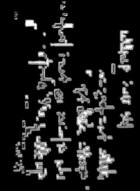 Pristowscheg.La estética de la palabra.Perspectivas cromáticas.Abstract Art.Digital Art.LO ZIP. 96x71 cm | 38x28 in