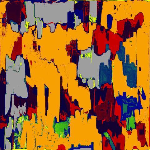 Pristowscheg. Digital Art. Abstract Art. Transformaciones 76x76 cm | 30x30 in