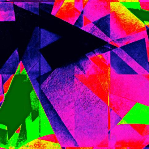 Pristowscheg.Capítulo IV.Perspectivas cromáticas.Abstract Art. Digital Art.Étoile. 61x61 cm | 24x24 in