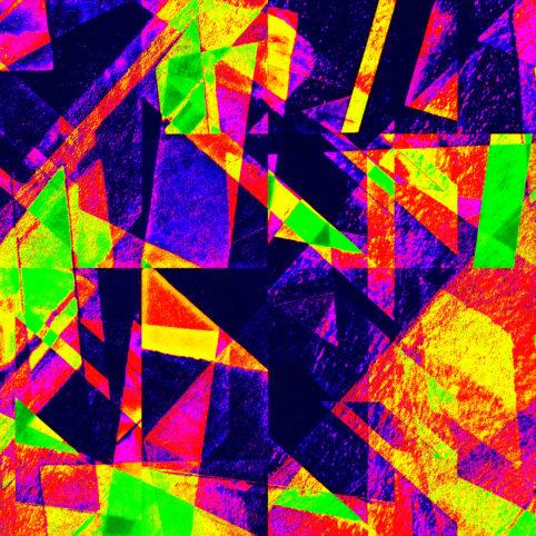 Pristowscheg.Capítulo IV.Perspectivas cromáticas.Abstract Art. Digital Art.Labyrinth. 61x61 cm | 24x24 in