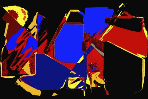 Pristowscheg.Capítulo IV.Perspectivas cromáticas.Abstract Art. Digital Art.Baba Yaga. 101x152 cm | 40x60 in