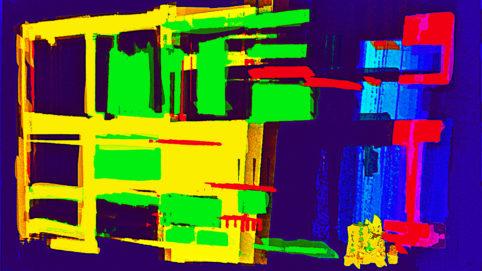 Pristowscheg.Capítulo IV.Perspectivas cromáticas.Abstract Art. Digital Art.LuminAires. 101x180 cm | 40x71,11 in