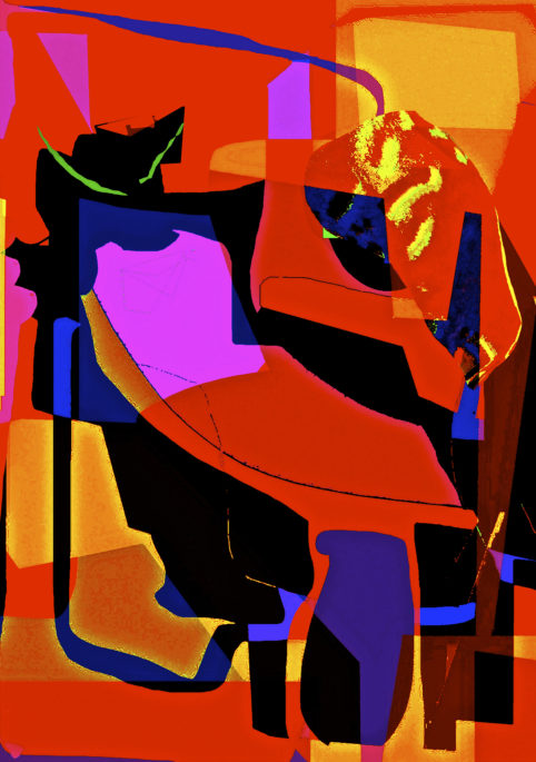 Pristowscheg. Los galimatías. Perspectivas cromáticas. Abstract Art. Digital Art.La Vitrina. 130x91 cm | 51,125x36 in