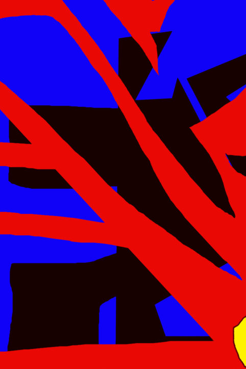 Pristowscheg. Busillis. Perspectivas cromáticas. Abstract Art. Digital Art.Circunspección nocturna. 114x76 cm | 45x30 in