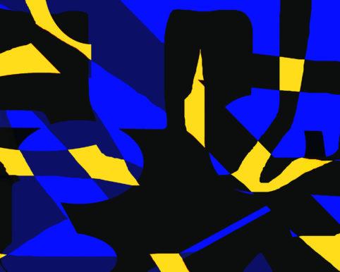 Pristowscheg. Busillis. Perspectivas cromáticas. Abstract Art. Digital Art.Piano Bar. 66x82 cm | 26x32,5 in