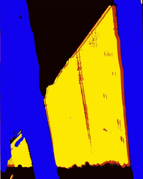 Pristowscheg. Busillis. Perspectivas cromáticas. Abstract Art. Digital Art.The Wall. 95x76 cm | 37,5x30 in