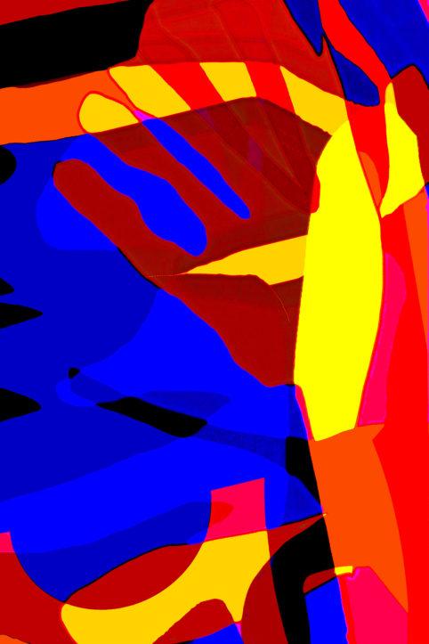 Pristowscheg. Busillis. Perspectivas cromáticas. Abstract Art. Digital Art.Anguish. 114x76 cm | 45x30 in