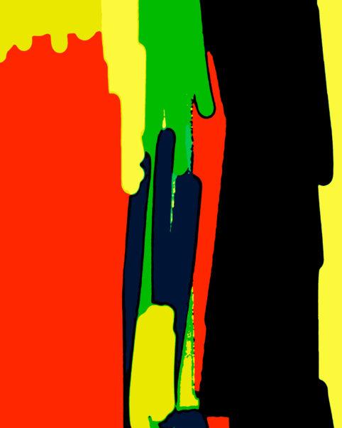 Pristowscheg. Busillis. Perspectivas cromáticas. Abstract Art. Digital Art.Rapa Nui. 101x81 cm | 40x32 in