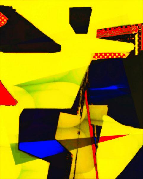 Pristowscheg. Busillis. Perspectivas cromáticas. Abstract Art. Digital Art.Whirling Dance. 120x96 cm | 47,5x38 in
