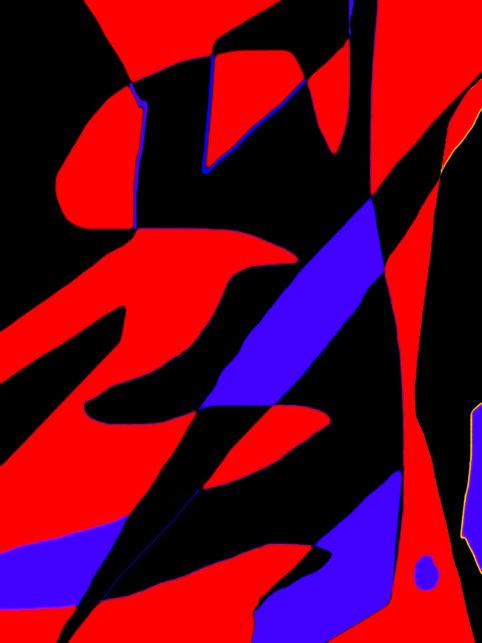 Pristowscheg.Busillis.Perspectivas cromáticas.Abstract Art. Digital Art.Valse fantastique. 101x76 cm | 40x30 in