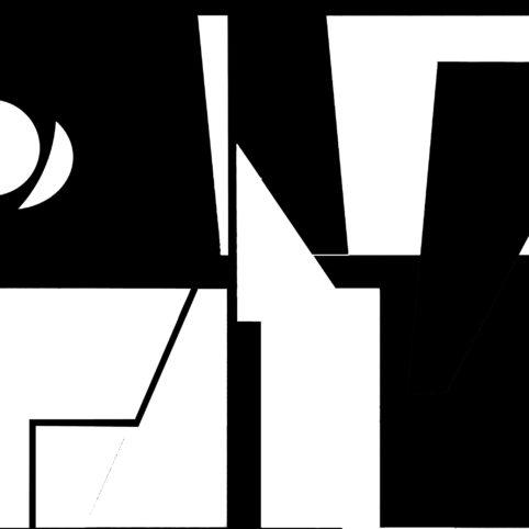 Pristowscheg.The Break.Perspectivas cromáticas.Abstract Art. Digital Art.El sol y la luna. 91x91 cm | 36x36 in