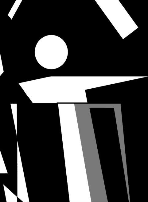 Pristowscheg.The Break.Perspectivas cromáticas.Abstract Art. Digital Art.Composición #17. 96x71 cm | 38x28 in