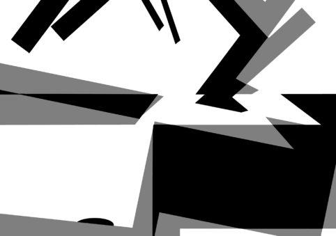 Pristowscheg.The Break.Perspectivas cromáticas.Abstract Art. Digital Art.Composición #2. 127x180 cm | 50x71,11 in