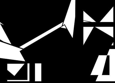 Pristowscheg.The Break.Perspectivas cromáticas.Abstract Art. Digital Art.Petite Suite Noire #5. 91x127 cm | 36x50 in