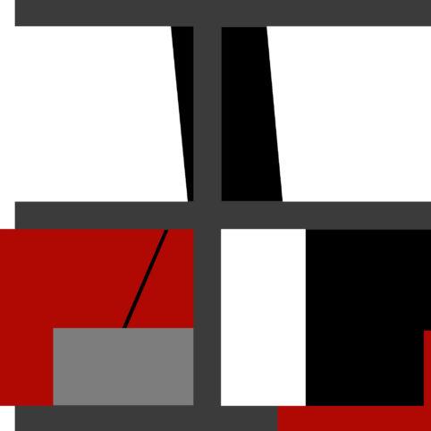 Pristowscheg. Digital Art. Abstract Art. Tetracromía #8 91x91 cm | 36x36 in