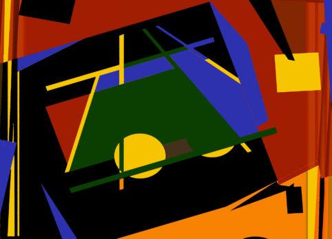 Pristowscheg.Terro.Perspectivas cromáticas.Abstract Art.Digital Art.Collage digital. 66x91 cm | 26x36 in