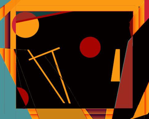Pristowscheg.Terro.Perspectivas cromáticas.Abstract Art.Digital Art.Galileo. 81x101 cm | 32x40 in