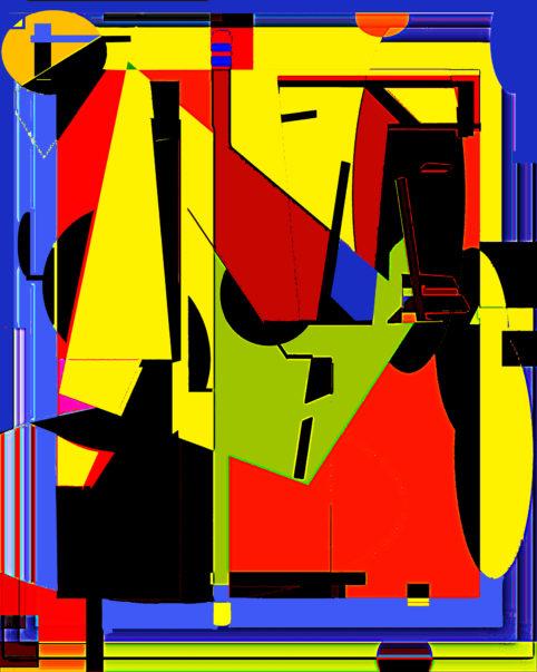 Pristowscheg.Terro.Perspectivas cromáticas.Abstract Art.Digital Art.Mokambo. 120x96 cm | 47,5x38 in