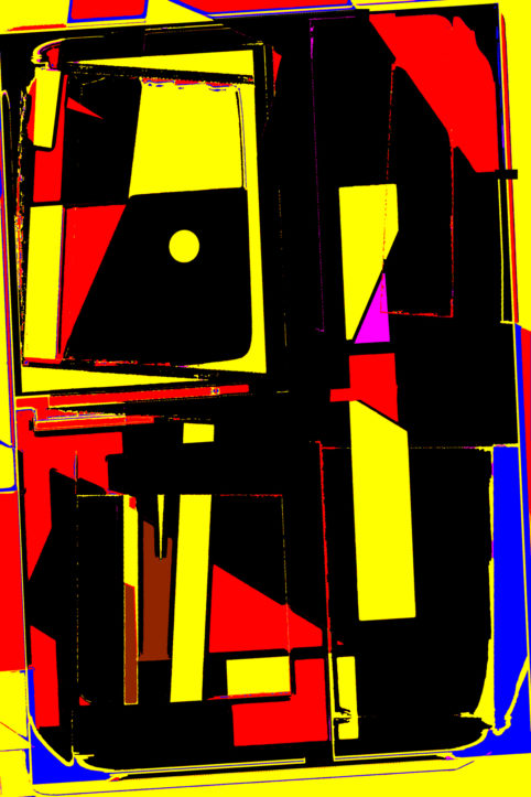 Pristowscheg.Terro.Perspectivas cromáticas.Abstract Art.Digital Art.Zergomanno. 76x51 cm | 30x20 in
