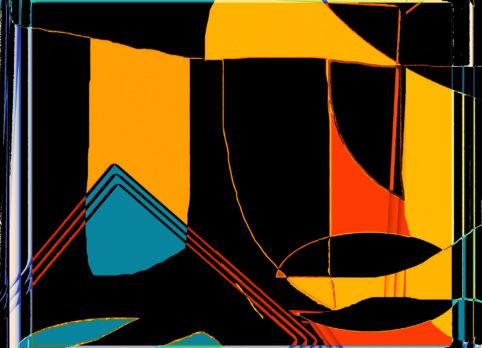 Pristowscheg.Terro.Perspectivas cromáticas.Abstract Art.Digital Art.Makumba. 66x91 cm | 26x36 in