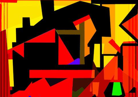 Pristowscheg.Terro.Perspectivas cromáticas.Abstract Art.Digital Art.Inmanencia. 75x106 cm | 29,5x42 in