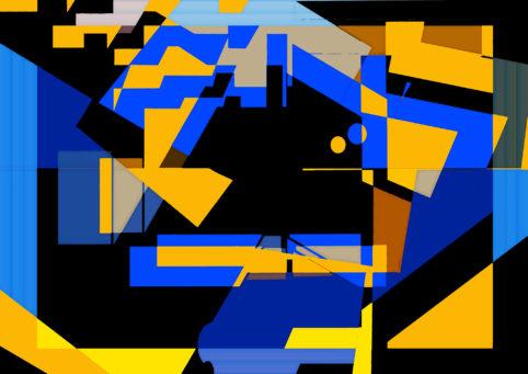 Pristowscheg.Terro.Perspectivas cromáticas.Abstract Art.Digital Art.Vigilia. 90x127 cm | 35,3x50 in