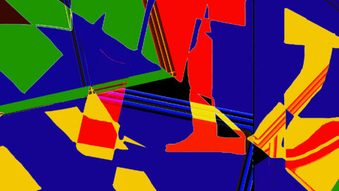 Pristowscheg.Terro.Perspectivas cromáticas.Abstract Art.Digital Art.Bisbiglio. 101x180 cm | 40x71,11 in