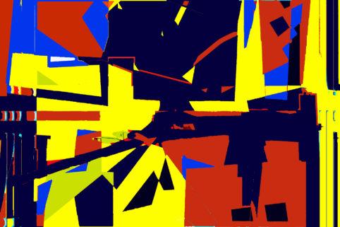 Pristowscheg.Terro.Perspectivas cromáticas.Abstract Art.Digital Art.Sin título. 101x152 cm | 40x60 in