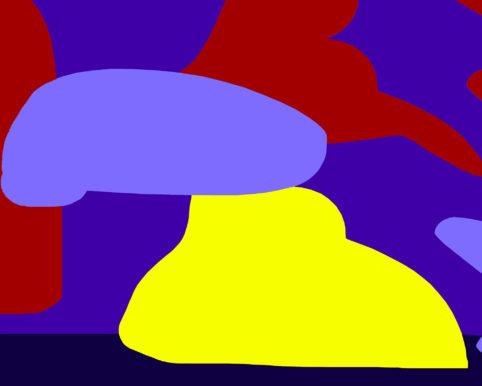 Pristowscheg.Garbuglio.Perspectivas cromáticas.Abstract Art.Digital Art.Composición Rítmica #2. 101x127 cm | 40x50 in