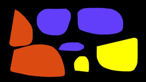 Pristowscheg.Garbuglio.Perspectivas cromáticas.Abstract Art.Digital Art.Composición arítmica. 101x180 cm | 40x71,11 in