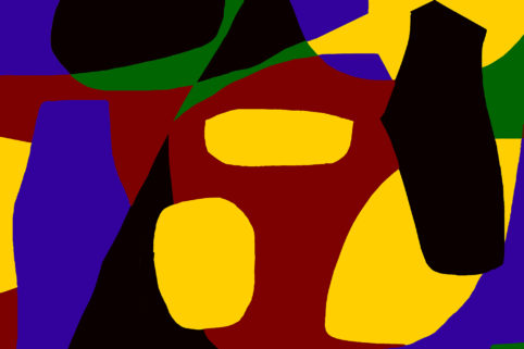 Pristowscheg.Garbuglio.Perspectivas cromáticas.Abstract Art.Digital Art.Abstracto digital. 101x152 cm | 40x60 in