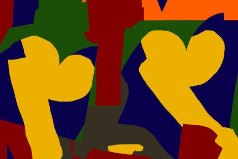 Pristowscheg.Garbuglio.Perspectivas cromáticas.Abstract Art.Digital Art.Opuntiana. 101x152 cm | 40x60 in