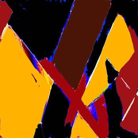 Pristowscheg. Digital Art. Abstract Art. ABSTRACTO 76x76 cm | 30x30 in