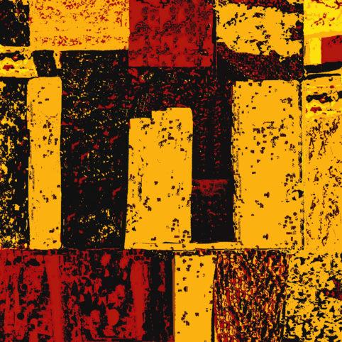 Pristowscheg. Digital Art. Abstract Art. Enigma psicodélico 91x91 cm | 36x36 in