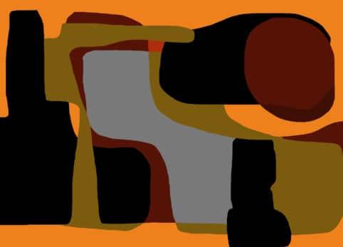Pristowscheg. Digital Art. Abstract Art. Bodegón 90x127 cm | 36x50 in
