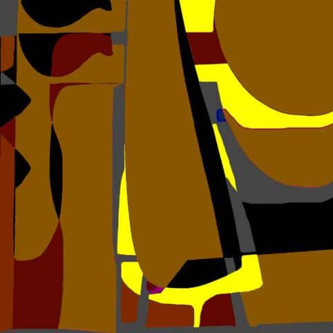 Pristowscheg. Digital Art. Abstract Art. Composición 90x90 cm | 36x36 in