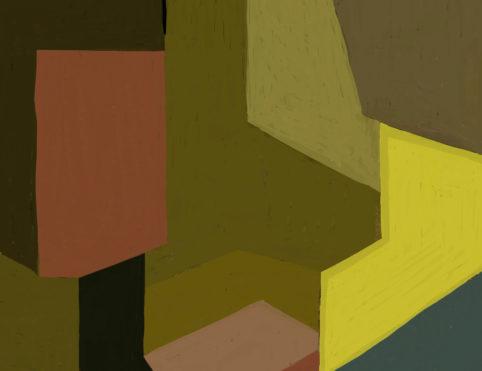 Pristowscheg. Digital Art. Abstract Art. Impromptu 50x66  cm | 20x26  in