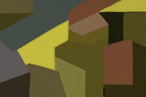 Pristowscheg. Digital Art. Abstract Art. Impromptu 50x76 cm | 20x30 in