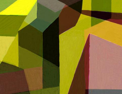 Pristowscheg. Digital Art. Abstract Art. Impromptu 51x66  cm | 20x26 in