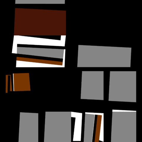 Pristowscheg. Digital Art. Abstract Art. Kapcha 91x91 cm | 36x36 in