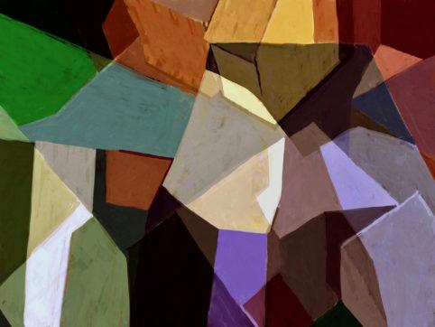 Pristowscheg. Digital Art. Abstract Art. Paisaje 76x101 cm | 30x40 in