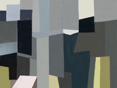 Pristowscheg. Digital Art. Abstract Art. Puente 61x81 cm | 24x32 in