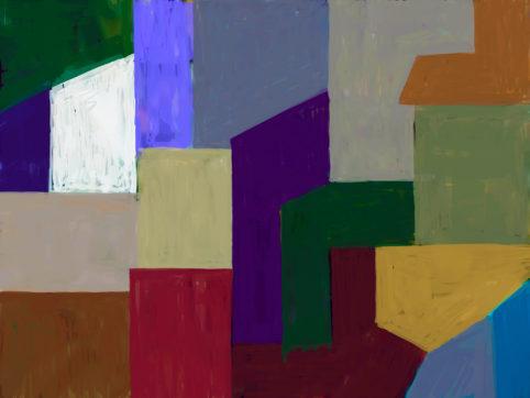 Pristowscheg. Digital Art. Abstract Art. Sin perspectiva 60x32 cm | 24x32 in