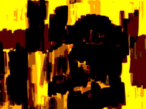 Pristowscheg. Digital Art. Abstract Art. Chamán 60x81 cm | 24x32 in