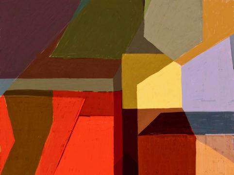 Pristowscheg. Digital Art. Abstract Art. TEMA POLICROMÁTICO 76x101 cm | 30x40 in