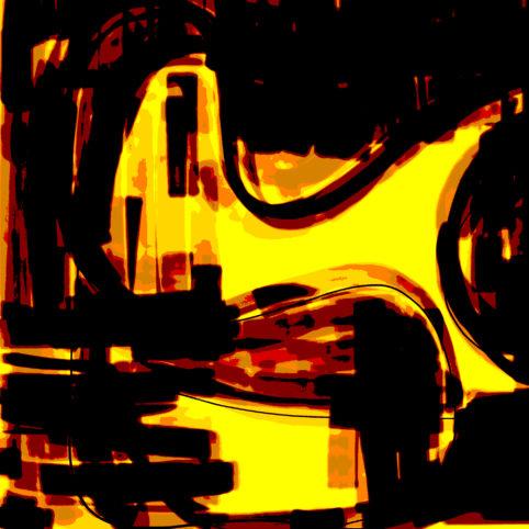 Pristowscheg. Digital Art. Abstract Art. Transparencia 76x76 cm | 30x30 in