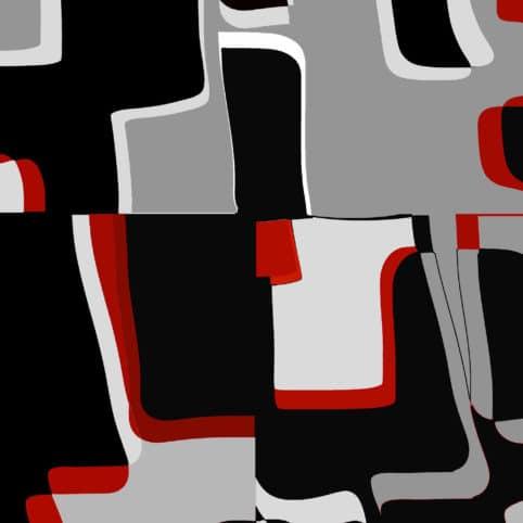 Pristowscheg. Digital Art. Abstract Art. Tupac 91x91 cm | 36x36 in